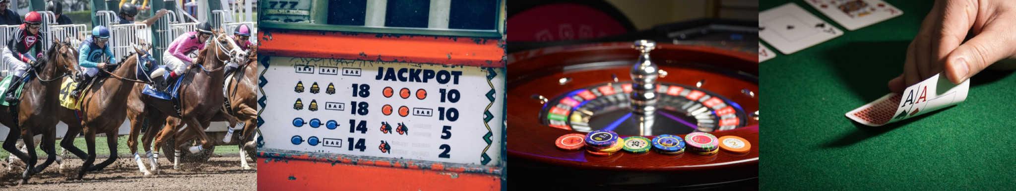 gambling collage